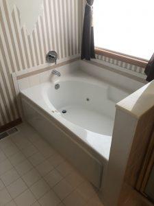 Bartlett, IL tub after