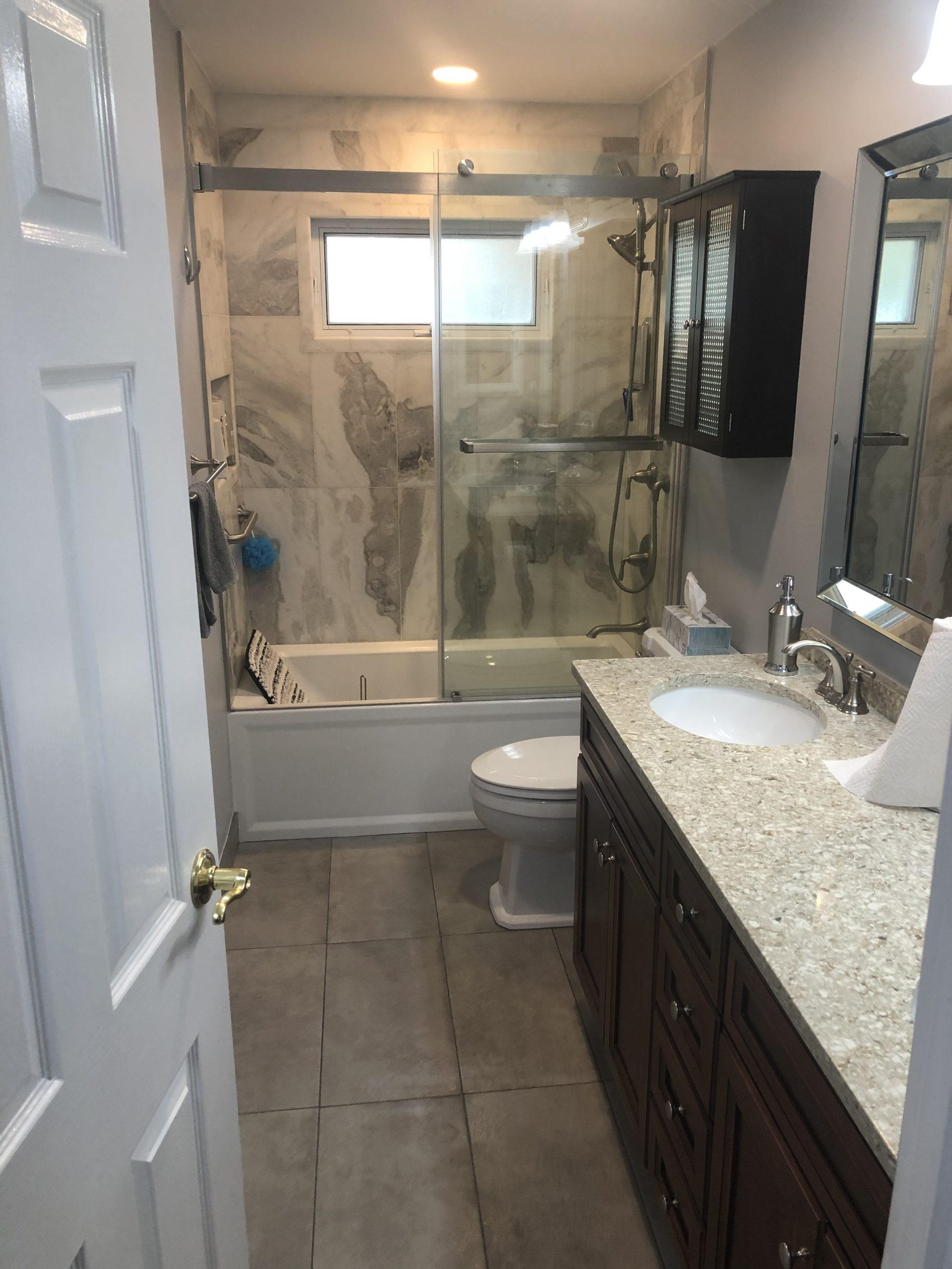 after Hoffman Estates il bathroom
