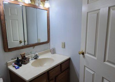 Before   Schaumburg IL Bathroom Remodel