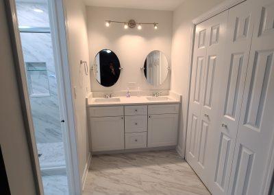 After | Vanity & Flooring