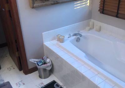 Before   Streamwood, IL Master Bathroom Remodel